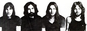 Roger Waters, Nick Mason, David Gilmour and Richard Wright, 1971, Meddle inside cover