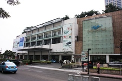 Plaza Indonesia, the high end shopping centre in Central Jakarta