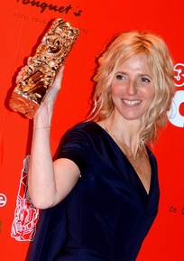 Sandrine Kiberlain, star of 9 Month Stretch, won the César Award for Best Actress.