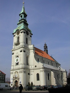 Sanctuary of saint Joseph in Kalisz