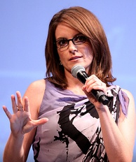 Fey at the 2010 San Diego Comic-Con International promoting Megamind