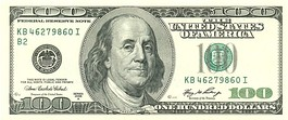 Obverse of a Series 2006A $100 note.