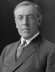 March 4: Woodrow Wilson begins the first of two terms as President