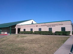 Barbara Bush Elementary School in Parkway Villages, Houston