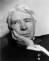 "Carl Sandburg's most famous description of the city is as ""Hog Butcher for the World/Tool Maker, Stacker of Wheat/ Player with Railroads and the Nation's Freight Handler,/ Stormy, Husky, Brawling, City of the Big Shoulders."""