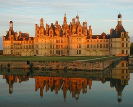 The Château de Chambord is one of the most popular tourist destinations in France.