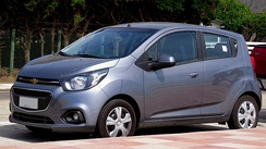 Chevrolet Spark GT (Chile, second facelift)