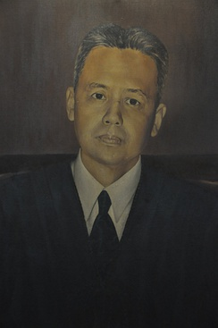 José Abad Santos, the fifth Chief Justice of the Supreme Court.
