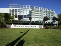 The San Jose Museum of Art (top), The Tech Museum of Innovation (middle), both in San Jose, and the Computer History Museum, in Mountain View.