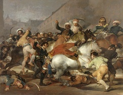 The Second of May 1808: The charge of the Mamelukes of the Imperial Guard in Madrid, by Francisco de Goya