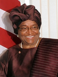 Liberian President Ellen Johnson Sirleaf is listed in the Paradise Papers