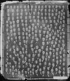 Group photo of the U.S. House of Representatives, in 1860, during this Congress.