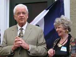 Boswell and his wife Dody, 2006