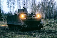 Lithuanian Armed Forces M113A2 with 50cal