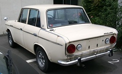 Mitsubishi Colt 1100 Sedan (with after-market wheels)