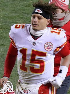Patrick Mahomes, the Chiefs starting quarterback since 2018