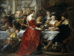 Feast of Herod, Peter Paul Rubens