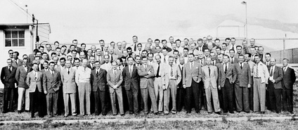 Operation Paperclip scientists of the Ordnance Rocket Center.