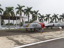A Taiwanese F-86F on display