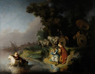 Rembrandt, The Abduction of Europa, 1632