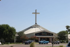 Renovated St. Patrick's Catholic Church is on Del Mar Boulevard across from the Laredo Fire Department.