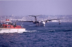 A VP-40 SP-5B after the last operational U.S. Navy flight of a Marlin in 1967