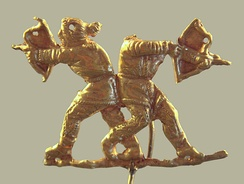 Scythians shooting with bows, Panticapeum (modern Kertch), 4th century BCE.