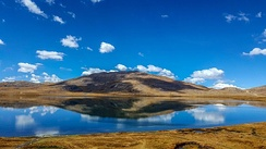 Sheosar Lake is in the western part of Deosai National Park