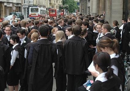 Студенты Оксфордского университета