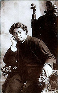 Vivekananda in 1900, at San Francisco