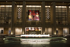 The David H. Koch Theater at Lincoln Center, home of the New York City Ballet