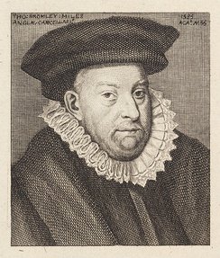 Thomas Bromley, Solicitor General 1569–79, Lord Chancellor 1579–87.