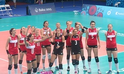 Turkey won the gold medal at the 2015 European Games.