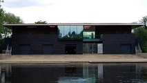 The new Boathouse for the University College Oxford Boat Club.