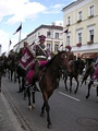 """Representative Cavalry Squadron of Polish Army"" on military parade"
