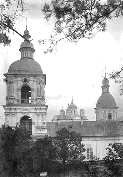 The Transfiguration Cathedral seen shortly before its demolition, 1934.