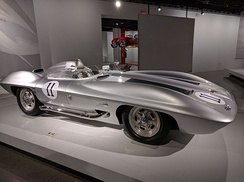 1959 Corvette XP-87 Stingray Racer on display at the Peterson Automotive Museum in Los Angeles, California in July 2016