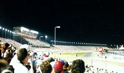 The first night race in 1998.