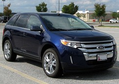 Ford Edge Limited (US; facelift)