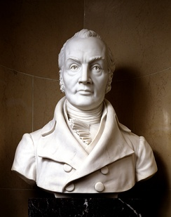 Bust of Aaron Burr as Vice President