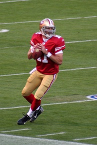 49ers' former quarterback Alex Smith