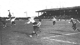 South Africa playing Alumni in Buenos Aires, 1906