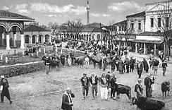 The Old Bazaar at the turn of the 20th century.