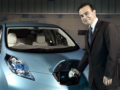 Former CEO Carlos Ghosn has been credited with reviving Nissan