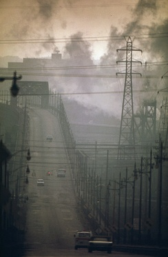Air pollution in the US, 1973