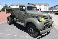 Dodge D15 Canadian Military Pattern truck, shared much with the 1940 VC-series.