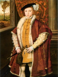 A small boy with a big mind: Edward VI, desperate for a Protestant succession, changed his father's will to allow Lady Jane Grey to become queen