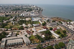 Skyline of Libreville, Gabon