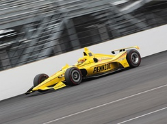 Hélio Castroneves at the 2019 Indianapolis 500