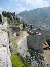 View of the fortress at Klis from west to east